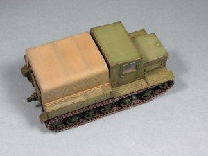 35052 Ya-12 SOVIET ARTILLERY TRACTOR + kust1974