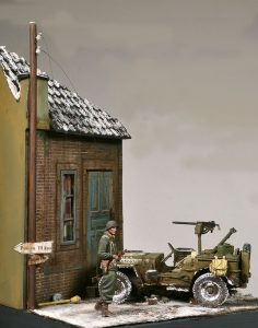 36023 DUTCH VILLAGE DIORAMA  + Felipe Moreno