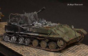 35143 SU-76M SOVIET SELF-PROPELLED GUN w/CREW + Shigeyuki Mizuno