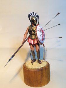 16012 SPARTAN HOPLITE V CENTURY B.C. + Tony Poskus