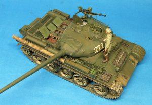 37003 T-54-1 SOVIET MEDIUM TANK. Interior kit. + David Coyne