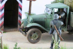 35127 GAZ-AAA CARGO TRUCK + Jan-Kol