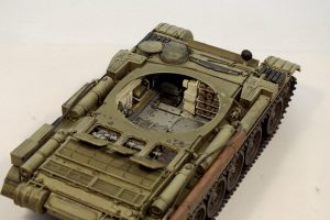 37003 T-54-1 SOVIET MEDIUM TANK. Interior kit. + Alexander Komarov