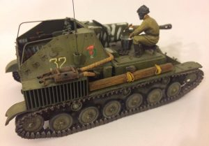 35143 SU-76M SOVIET SELF-PROPELLED GUN w/CREW +Edgar Martínez