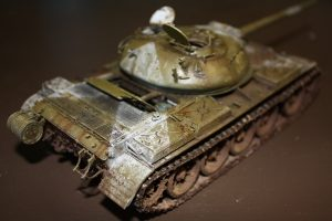 37004 T-54-2 SOVIET MEDIUM TANK. Mod 1949 INTERIOR KIT + sticks84