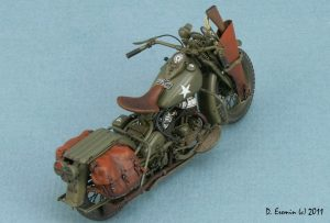 35080 U.S. WW II Motorcycle WLA + Dmitry Eremin