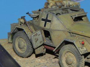 35082 LEICHTER Pz.kpfw. 202(e) w/CREW DINGO Mk.I + Pedro Baffaro