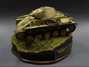 35026 GERMAN Pz. Kpfw. T-70 743(r) w/CREW +  Seed