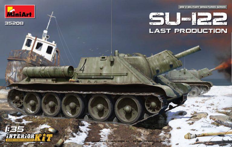 35208 SU-122 (Last Production) INTERIOR KIT