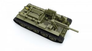 3D renders 35208 SU-122 (letzte Ausführung)