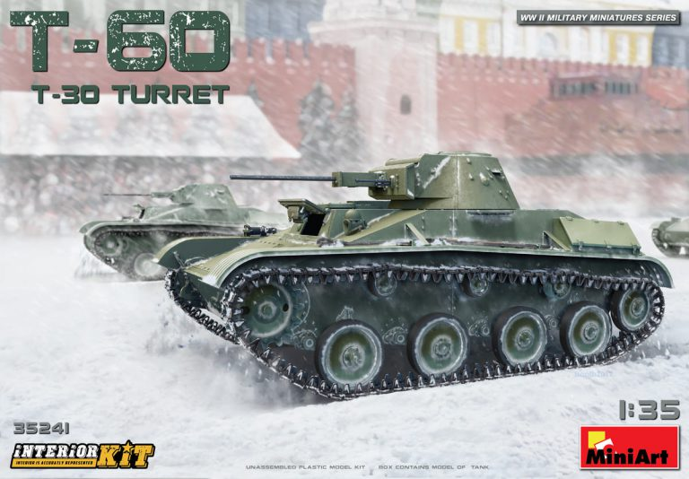 35241 T-60 (T-30 Turret) INTERIOR KIT
