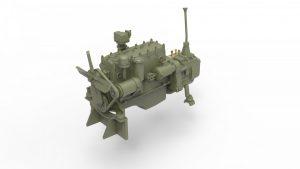 3D renders 35241 T-60 (с Башней от T-30) НАБОР С ИНТЕРЬЕРОМ