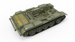 3D renders 37018 T-55 Mod. 1963  INTERIOR KIT