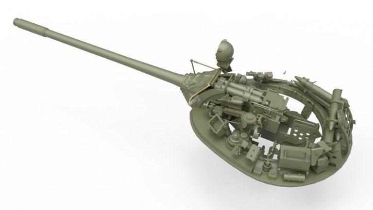 37018 T-55 1963年型 坦克 含内构