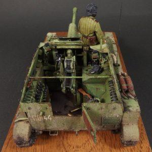 35143 SU-76M SOVIET SELF-PROPELLED GUN w/CREW + halchan