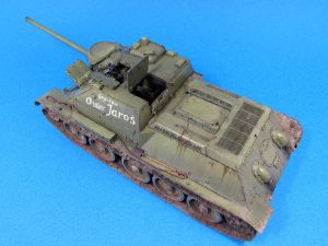 35187 SU-85 SOVIET SELF-PROPELLED GUN. INTERIOR KIT + Petr Bednarik