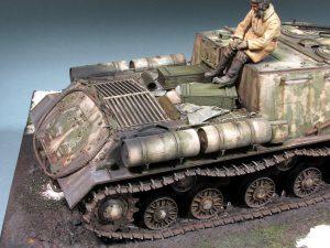 35022 SOVIET TANK CREW. WINTER 1943-45+ 35076 SOVIET 152-mm AMMUNITION + Alexei Gruzdev