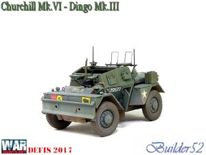 35077 DINGO Mk.III BRITISH SCOUT CAR w/CREW