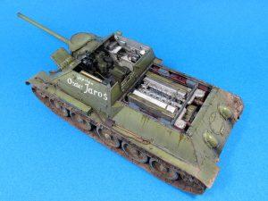35187 SU-85 SOVIET SELF-PROPELLED GUN. INTERIOR KIT + Petr Bednarik