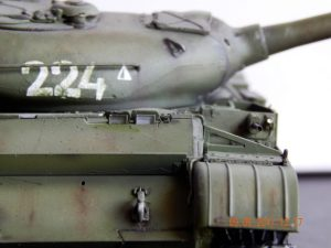 37003 T-54-1 SOVIET MEDIUM TANK. INTERIOR KIT + Michael
