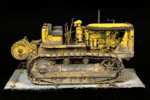 35174 U.S. TRACTOR D7 w/Towing Winch D7N + odimichal