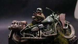 35179 U.S. MOTORCYCLE WLA w/RIFLEMAN + Dohong Kim