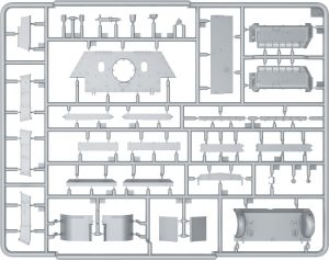 Content box 35208 SU-122 (Last Production) INTERIOR KIT