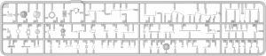 Content box 37016 T-55A EARLY Mod. 1965. INTERIOR KIT