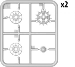 Content box 37018 T-55 1963年型 坦克 含内构