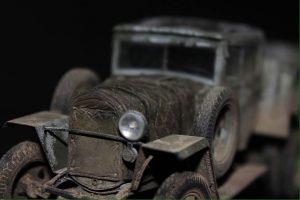 35133 GAZ-AAA Mod. 1943. CARGO TRUCK + Alexander Fomin