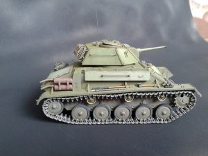 35117 SOVIET LIGHT TANK T-80. SPECIAL EDITION + 35146 WORKABLE TRACK LINK SET for T-70 + Anatoly Pozhidaev