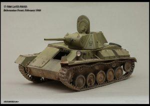 37002 T-44M SOVIET MEDIUM TANK + Maxim Pedan