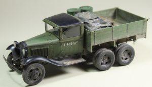 35127 GAZ-AAA CARGO TRUCK + Alexander Fomin