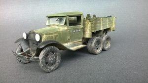 35127 GAZ-AAA CARGO TRUCK + 35170 SOVIET HEAVY INFANTRY WEAPONS AND EQUIPMENT + Igor Struchkov