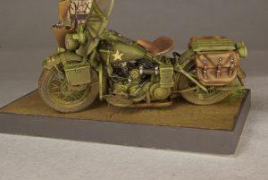 35080 U.S. WW II Motorcycle WLA + Igor K.