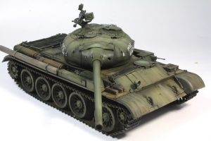 37003 T-54-1 SOVIET MEDIUM TANK. Interior kit. + Adjudant
