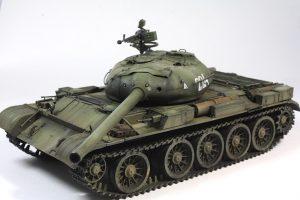 37003 T-54-1 SOVIET MEDIUM TANK. Interior kit. + Adjudant
