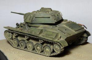 35117 SOVIET LIGHT TANK T-80. SPECIAL EDITION +  Eugene B