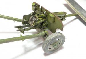 35032 SOVIET 76,2 mm DIV. FIELD GUN ZIS-3 w/CREW + Vítek Vrog Přívratský