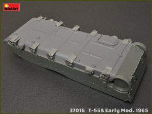 Build up 37016 T-55A EARLY Mod. 1965. INTERIOR KIT