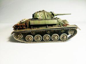 35194 T-70M SOVIET LIGHT TANK w/CREW. SPECIAL EDITION + Alexey Solovyov