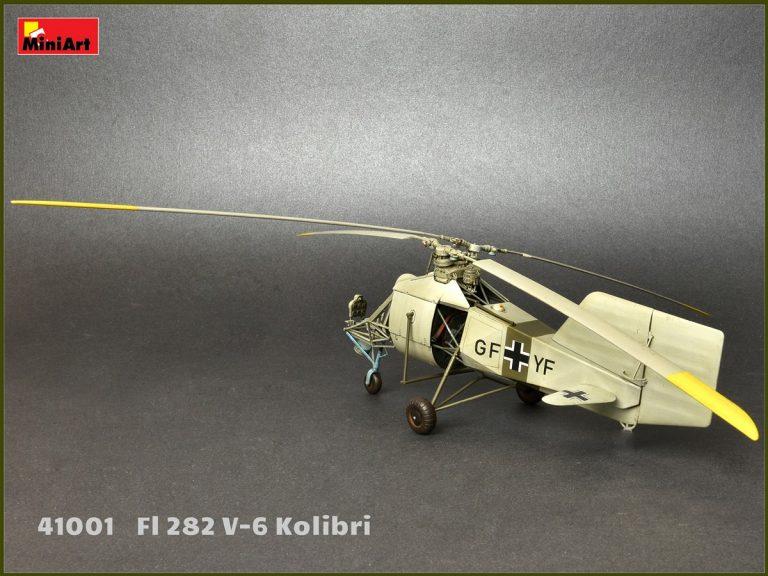 41001 ВЕРТОЛЕТ Fl 282 V-6 КОЛИБРИ