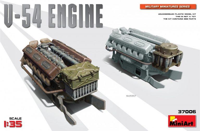 37006 V-54发动机