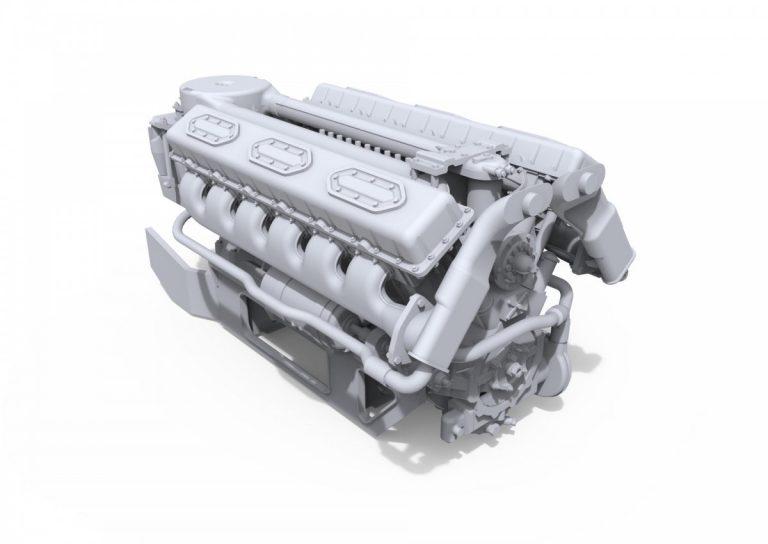 37006 V-54 ENGINE