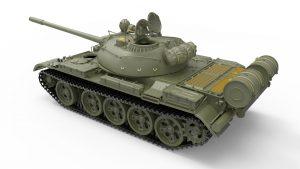 3D renders 37027 T-55 Sowjetischer Medium Panzer