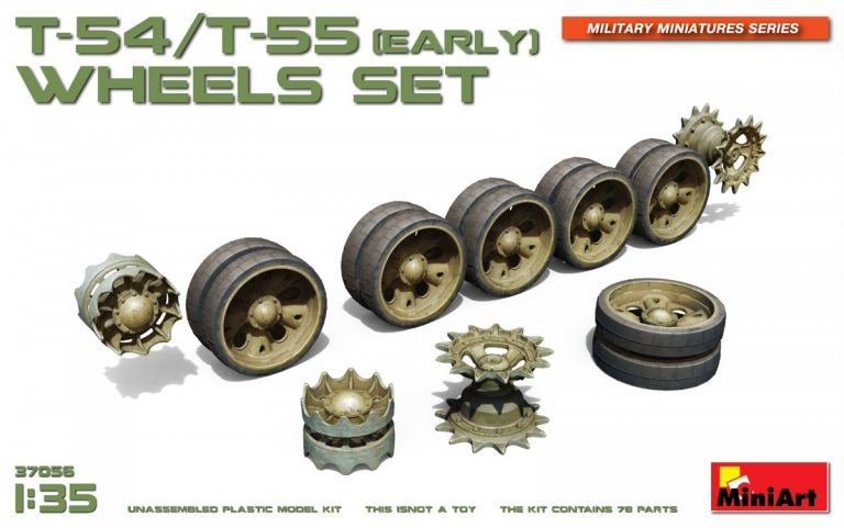 37056 T-54, T-55 (EARLY) WHEELS SET