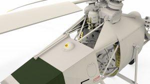 3D renders 41001 Fl 282 V-6 KOLIBRI