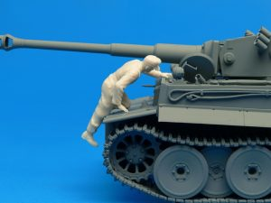 Photos 35252 Deutsche Panzerbesatzung (Frankreich 1944) Sonderausgabe