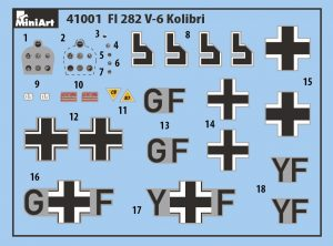 Content box 41001 Fl 282 V-6 KOLIBRI