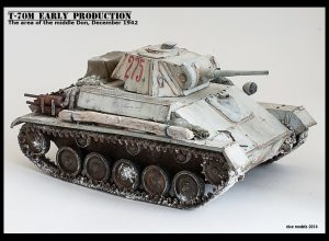 35025 T-70M EARLY PRODUCTION SOVIET LIGHT TANK w/CREW + Roman Proshkin